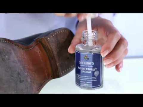 Leren schoenen waterdicht maken