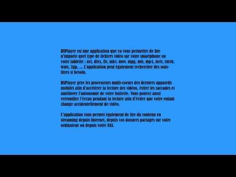 BSPlayer lecteur vidéo pour Android