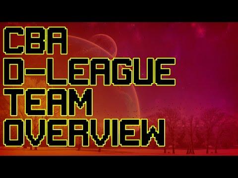 CBA D-League Team Overview