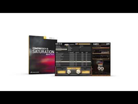 EZmix 2: Compression & Saturation EZmix Pack