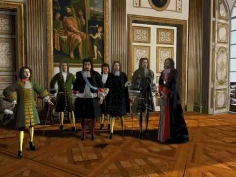 La journée du roi Louis XIV à Versailles