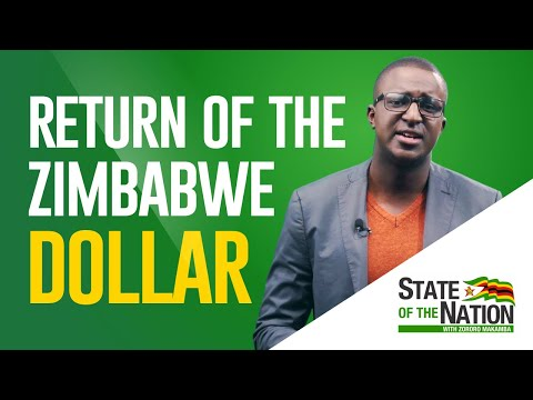 Return Of The Zimbabwe Dollar Explained | State Of The Nation With Zororo Makamba