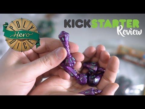 PolyHero Dice: Wizard Set Kickstarter Review. The best Commander accessory ever?