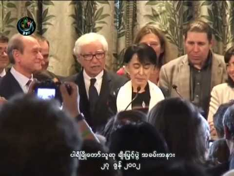 DASSK honorary citizen of Paris - 27.06.2012