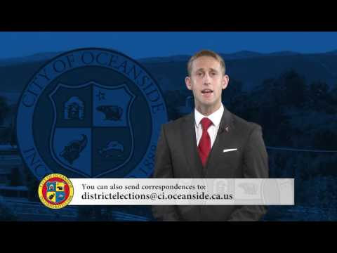 PSA - DISTRICT ELECTIONS IN THE CITY OF OCEANSIDE