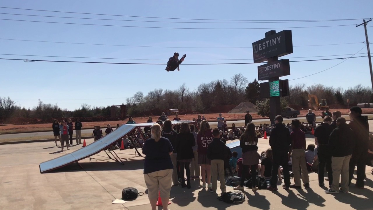 Jaren Grob in Oklahoma City with the lonestar action sports boys ...