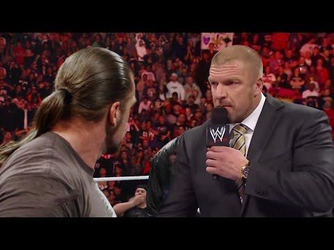 2017 ☁ Triple H Confronts Triple H ᴴᴰ - YouTube