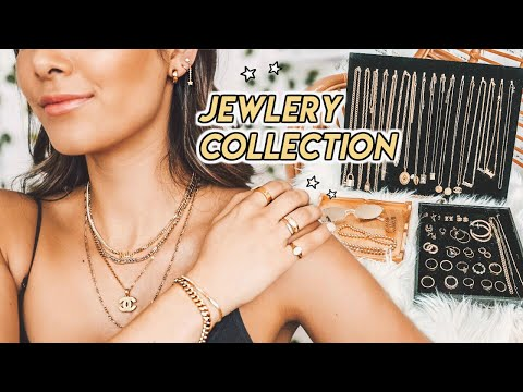 JEWELRY COLLECTION (try on) ☆ thrifting & buying jewelry 101