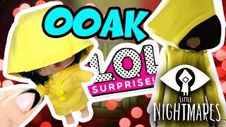 Маленькие Кошмары Кастом куклы ЛОЛ сюрприз в Шаре ШЕСТАЯ Little Nightmares Custom LOL Surprise