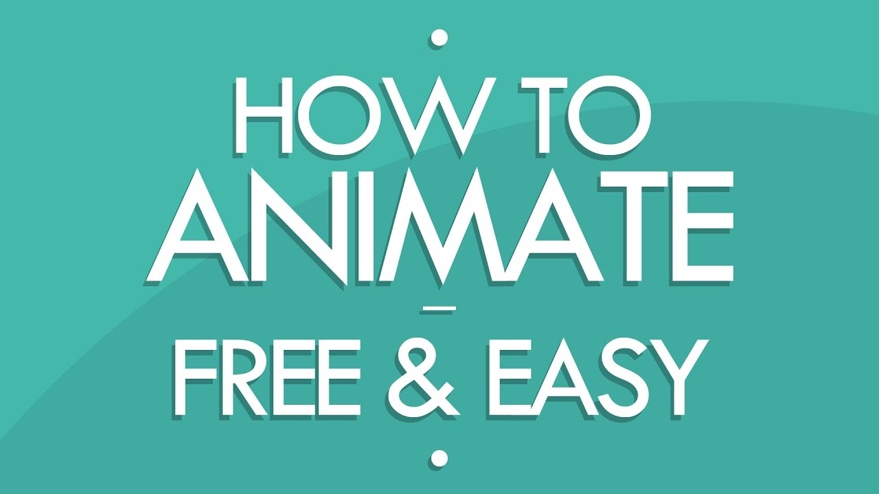 How To Animate! [free & Easy]  (tutorial)