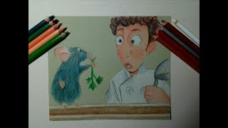 speed drawing Remy & Linguini (Ratatoille)