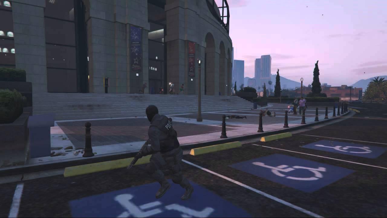 Grand Theft Auto 5 俠盜獵車手5 HD 自製遊戲短片 洛聖都反恐特勤隊 - YouTube