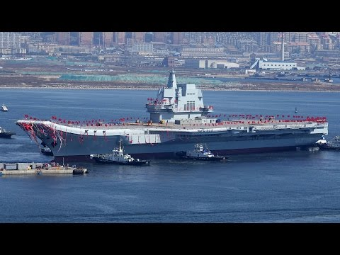 """China's """"Peaceful"""" New Aircraft Carrier 