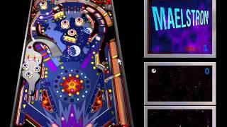 Microsoft Windows 98 Second Edition (1999) Maelstrom 3-D Pinball Game 0.91 (1994-1995)