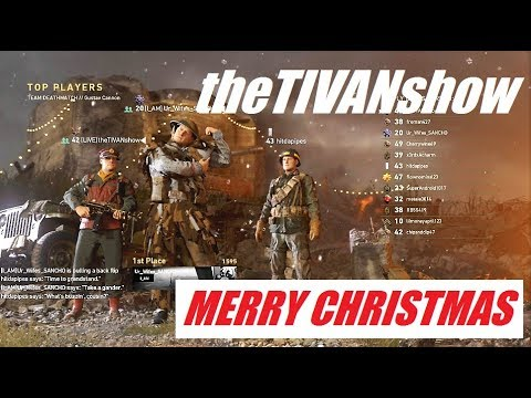 MERRY CHRISTMAS from theTIVANshow / CALL OF DUTY / HARDCORE CAMPING LOVE IT HATE IT