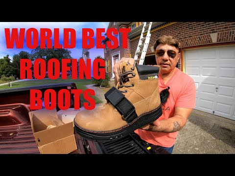 BEST ROOFING BOOTS