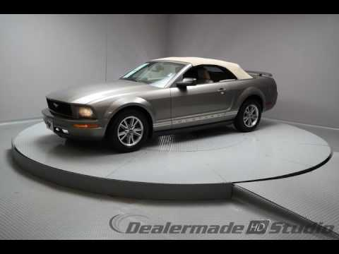 2005 Mineral Gray Clearcoat Metallic Ford Mustang 2D Convertible #4193A