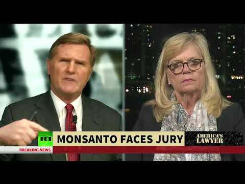 Wine and Oreo's Contaminated With Monsanto Chemicals | America\'s Lawyer on RT America |