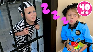 Five Kids Police Song + More Nursery Rhymes