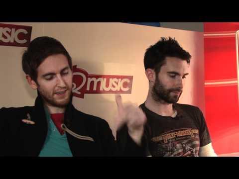Maroon 5 interview - Adam Levine and Jesse Carmichael (part 1)