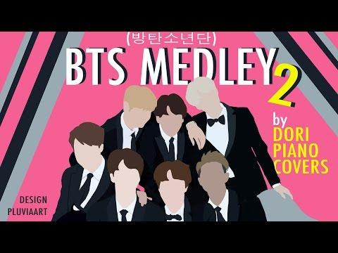 [Piano/Instrumental] 방탄소년단 BTS Medley #2 (9 songs)