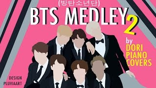 [Piano/Instrumental] 방탄소년단 BTS Medley #2 (9 songs)