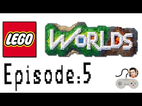 Let's Play Lego Worlds: Episode 5: Sheila Explores Jewel Island!