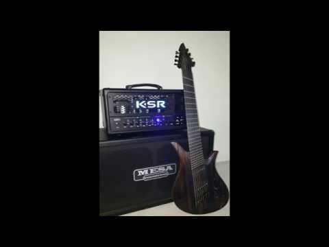The Concept of Zero (teaser) - ViK Guitars Saviour 8FF - KSR Ares