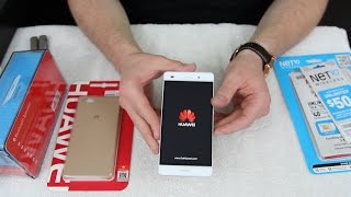 Huawei P8 Lite Bundle Unboxing (Outline in Description)