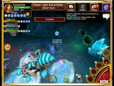 Arcane Legends: Farming Elite W/TuMadreee