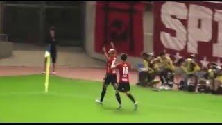 2016J1 1st第17節 鹿島 2-0 福岡 ジネイ幻のゴール