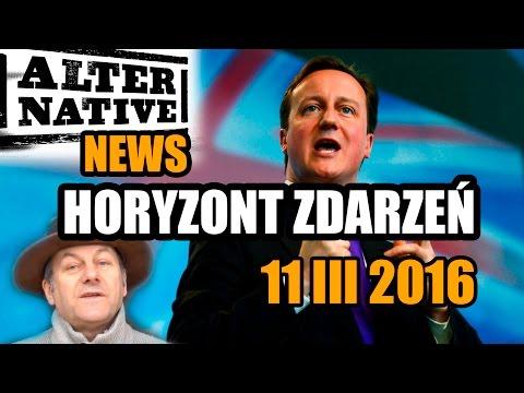 Alternatywna mozaika newsów 11 III 2016 - HORYZONT ZDARZEŃ #45