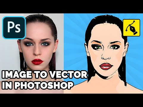 How To Convert An Image to Vector With Photoshop 🖼️♺✒️ [QUICK PHOTOSHOP TUTORIAL]