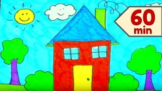 How To Draw A Home For Kids + More