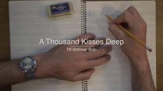 Till Brönner Trumpet Solo Transcription From A Thousand Kisses Deep