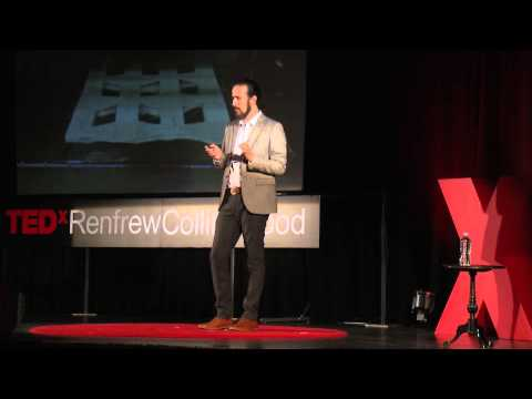 The power of paper | Ata Sina | TEDxRenfrewCollingwood