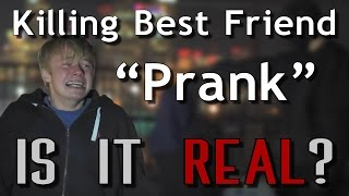 "IS IT REAL?- Sam Pepper KILLING BEST FRIEND ""Prank"" (Real Or Fake)"