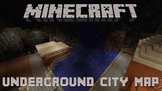 Minecraft Underground City Map