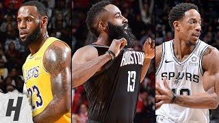 BEST NBA Highlights feat. LeBron James, James Harden, DeRozan & More   December 13, 2018