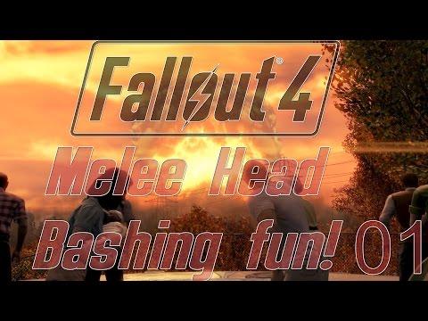 Let's Play Fallout 4 Complete Walkthrough Part 01:   Meet Melee Champion Bert McNutcase
