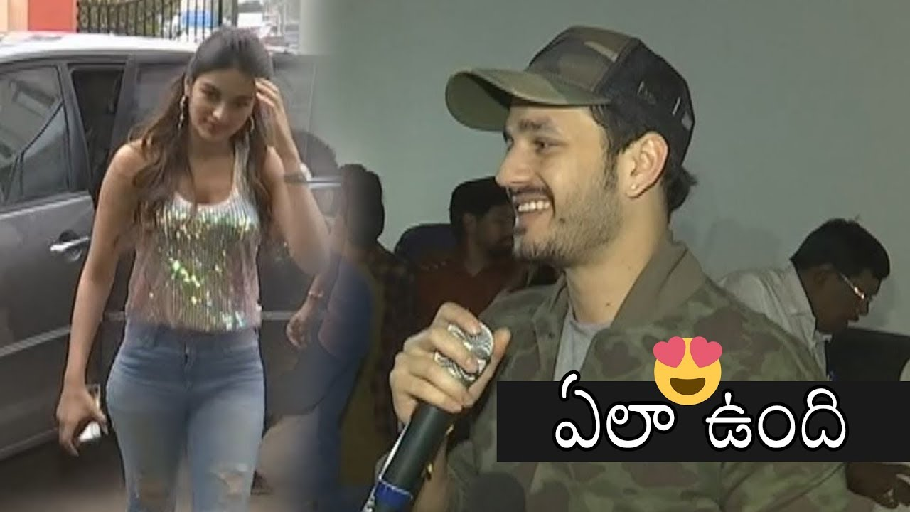 Akkineni Akhil Comments On Movie | Mr Majnu Movie Team Theater  Coverage | Daily Culture