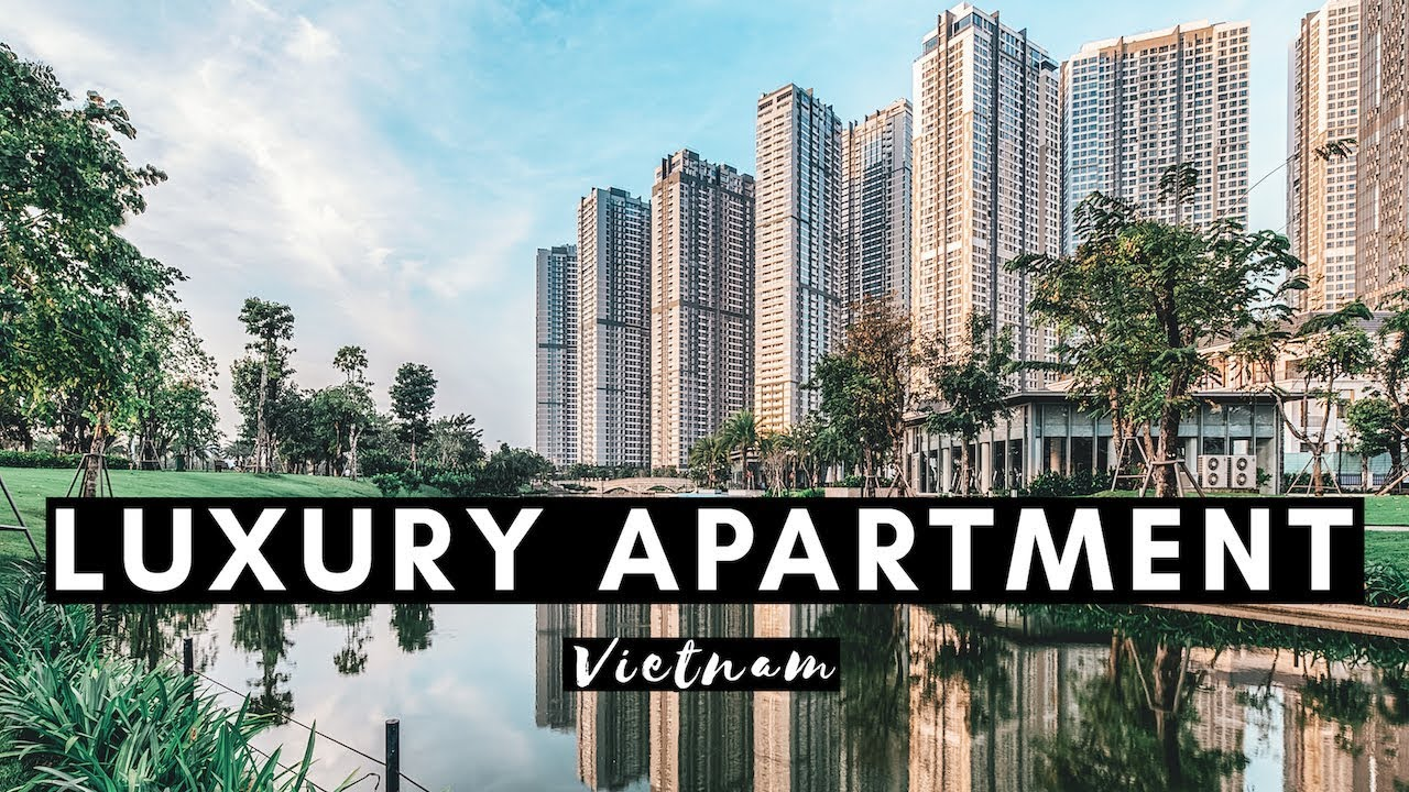 LUXURY APARTMENT IN VIETNAM | VINHOMES CENTRAL PARK APARTMENT TOUR | VIETNAM VLOG #003
