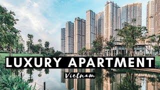 Gambar cover LUXURY APARTMENT IN VIETNAM | VINHOMES CENTRAL PARK APARTMENT TOUR | VIETNAM VLOG #003