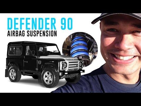 Customer Install: Land Rover Defender 90 Air Suspension - CR5026HP Airbag  Man Coil Helper Kit