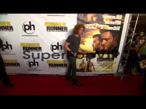 Scott 'Carrot Top' Thompson at 'Runner Runner' World Prem...