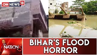 Three Storey Building In Bihar's Sitamarhi Collapses Due To The Flood Fury | Nation@5
