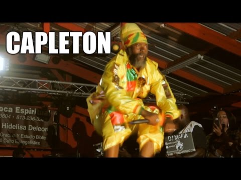 Capleton Live at Tampa Bay Fest & Interview