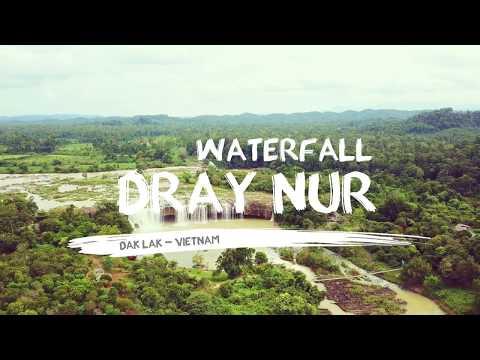 Dray Nur waterfall - Official [4K] | DakLak - Vietnam | Flycam Dji Mavic Pro