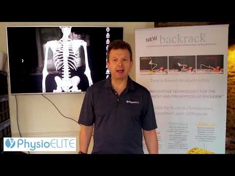 James Tomkies - MCSP Chartered Physiotherapist -  presents an Innovative Back Pain Treatment