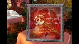 Second Life Wedding Video Scrapbook Of Luvsliee and Zander Ashland